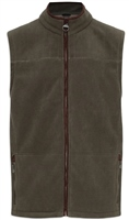 Champion Portree Mens Fleece Gilet Green