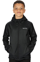 Regatta Kids Pack It III Jacket Black 2020