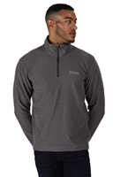 Regatta Elgor II Mens Half Zip Fleece Seal Grey 2021