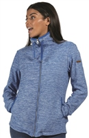 Regatta Evanna Womens Zip Fleece Strong Blue 2021