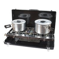 Kampa Alfresco Double Hob and Grill