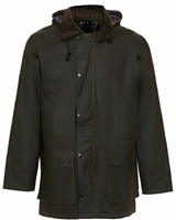 Champion Howick Mens Wax Padded Jacket Brown