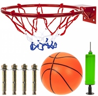 "PMS 13"" Metal Basketball Hoop Set"
