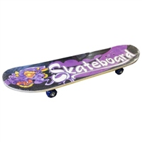 "PMS 17"" Retro Wooden Children's Skateboard"