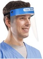 Emergency Face Shield With Anti Fog Screen