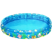 Wet N Wild Inflatable Tropical Fish Pool