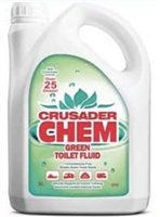 Crusader Chem Green Toilet Fluid