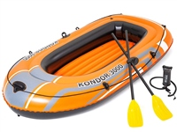 Bestway Kondor 3000 Inflatable Boat Set With Oars & Pump