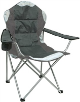 Summit High Back Padded Relaxer Chair (Option: Grey)