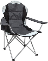 Summit High Back Padded Relaxer Chair (Option: Black )