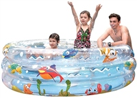 PMS Ocean Fun Jumbo 3 Ring Pool