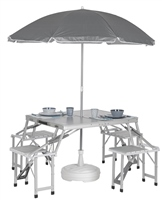 Bo-Camp Foldable Picnic Table