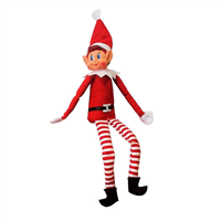 "Festive Elves Behaving Badly 12"" Naughty Elf"