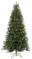 Festive 210cm Frosted Rockingham Pine Tree