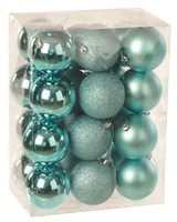 Festive 24 Pack Baubles