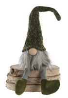 Festive Dangly Legs Gonk Moss Green