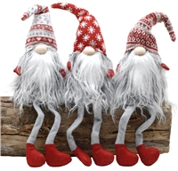 Festive Nordic Dangly Legs Fur Gonks