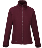 Regatta Brandall Womens Fleece Dark Burgundy