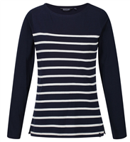 Regatta Ferelith Navy Womens T-shirt