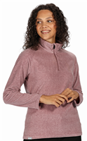 Regatta Pimlo Half Zip Womens Fleece Dusky Heather