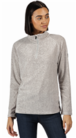 Regatta Pimlo Half Zip Womens Fleece Light Steel