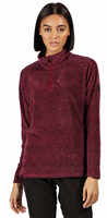 Regatta Pimlo Half Zip Womens Fleece Purple Potion