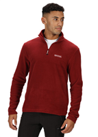 Regatta Thompson Mens Fleece Merlot