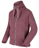 Regatta Zaylee Womens Full Zip Fleece Dusky Heather