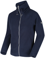 Regatta Zaylee Womens Full Zip Fleece Navy