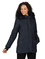 Regatta Zella Womens Navy Jacket