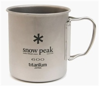 Snow Peak  Titanium Single Cup 600