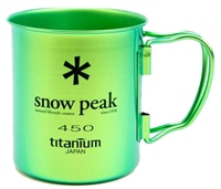 Snow Peak  Titanium Single Cup 450