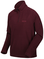 Regatta Mens Elgrid Half Zip Fleece Port Royale