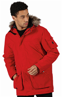 Regatta Mens Salinger II Parka Jacket Classic Red