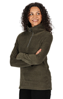 Regatta Womens Solenne Half Zip Fleece Dark Khaki