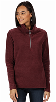 Regatta Womens Solenne Half Zip Fleece Dark Burgundy
