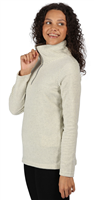 Regatta Womens Solenne Half Zip Fleece Light Vanilla Silver