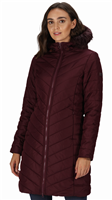 Regatta Fritha Womens Dark Burgundy Parka