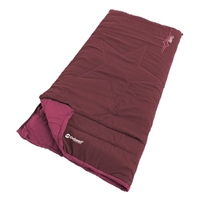 Outwell Champ Deep Red Junior Sleeping Bag