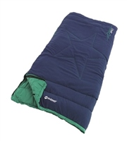 Outwell Champ Ocean Blue Junior Sleeping Bag