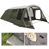 Outwell Knightdale 8PA Air Tent Package Deal 2021