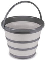 Kampa 10L Collapsible Bucket Grey