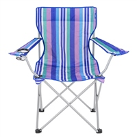Yello Stripes Camping Chair
