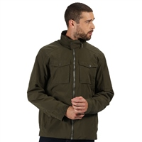 Regatta Haldor Mens Jacket Dark Khaki 2021