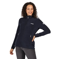 Regatta Floreo III Womens Zip Fleece Navy 2021