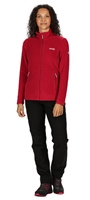Regatta Floreo III Womens Zip Fleece Dark Cerise 2021