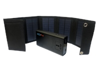 Powapacs Ion Portable Power Pack With Solar Panel