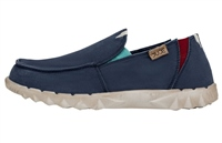 Hey Dude  Farty Washed Canvas Bluespace Shoes