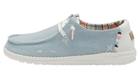 Hey Dude  Wendy Boho Light Denim Shoes