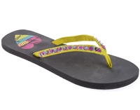 Urban Beach Ocean Walk Flip Flop Black